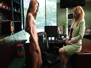 Horny Assistant Shows Her...