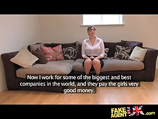 FakeAgentUK Amateur British Girl...