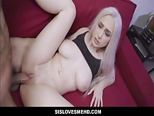 Big Tits Blonde Teen Stepsister Fucked By Stepbrother POV