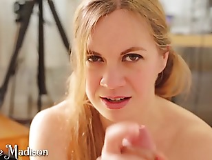 Hot POV Blowjob with Cum in Mouth Cumplay