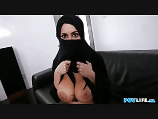 Busty Arabic Teen Violates...
