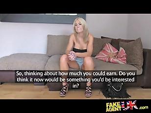 FakeAgentUK Beautiful Blonde MILF...