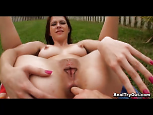 Anal In The Backyard...