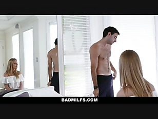 Badmilfs learning how to fuck from his stepmom - 3 part 8