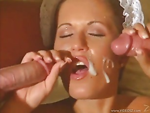 Redhead Maid Get Facial...