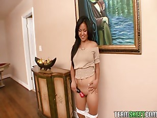 Teamskeet Asian Petite teen...