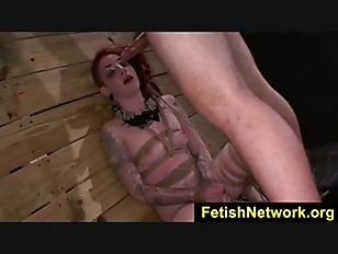Picture FetishNetwork Sheena Rose Rope Tied Sex