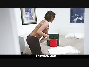 Pervmom - Horny Mom Fucks Stepson One Last Time