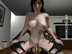 Picture Busty 3D Hentai Slut Riding Cock