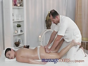 Masseur Convinces Her With...