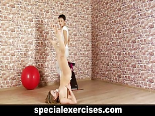 Picture Blonde Young Girl 18+ Gets Discipline Traini...