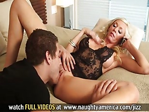 Milf gets fucked by sons friend