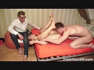 Picture Gf Cuckold Surprise Fuck