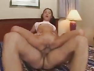 Kitty fuck on bed...