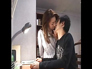 Asian mother and son sex video