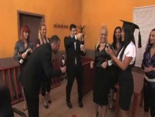 Euro Sluts Courtroom Orgy...