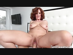 Mom horny and in...