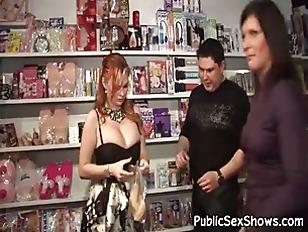 Busty Stripper Looks Hot...