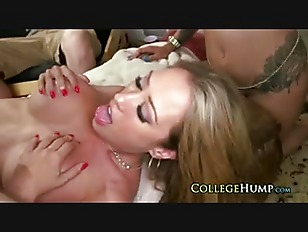 Dorm Sex Party With...