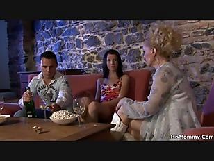 Milf Lesbian Seduces Her...