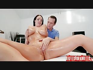 White massage porn