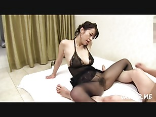 Pantyhose Asian Housewife...