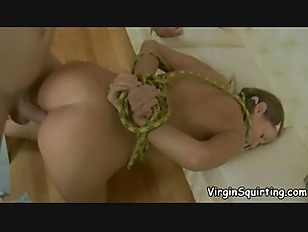 Forced squirting orgasms