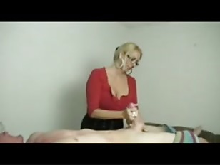 Picture Hot Milf Stroking A Young Dick