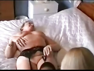 Picture Two Grannies Play In Lingerie And Shower