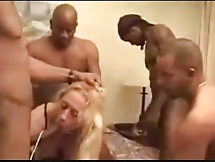 white wife black gangbang