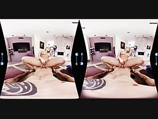 BaDoinkVR Kagney Linn Karter Finds Cock In Popcorn Box VR Porn