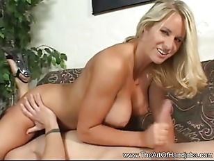 Busty Blonde MILF The...