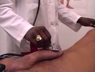 Picture French Ebony Nurse Gets Anal Fuck And Cum On...