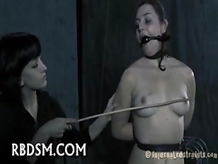 Gagged Babe Gets Lusty...