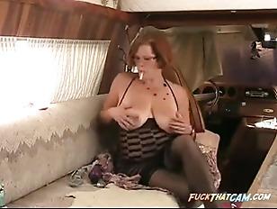 Girl licks guy ass