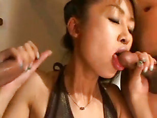 Picture Japanese Chick Double Blowjob