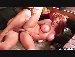 BestGonzo    Redhead Sophie Dee is kneeling to get a hard cock in her mouth