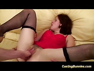 Her first anal casting...