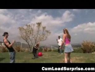 Cum Loving teen Gets...