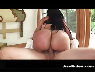 Latina with big booty anal
