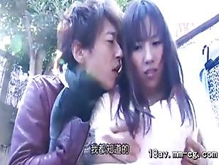 Seducing a sexy Japanese babe