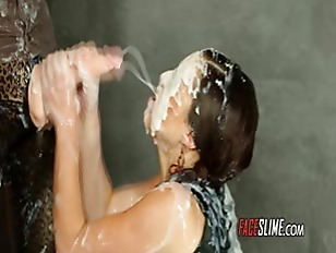 Picture Messy Facial Cumshot Covered Babe