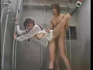 Japanese sex in the shower