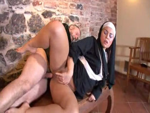 Father Pilo purified sister Mia ass