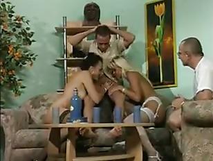 German Pee Orgy...