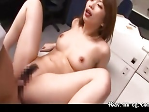 Japanese sexy slut takes care of two