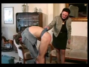 Granny Straps And Spanks...